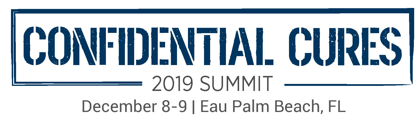 Confidential Cures Summit 2019